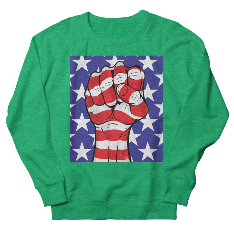 Fist Women's Sweatshirt by The Art of JCooper