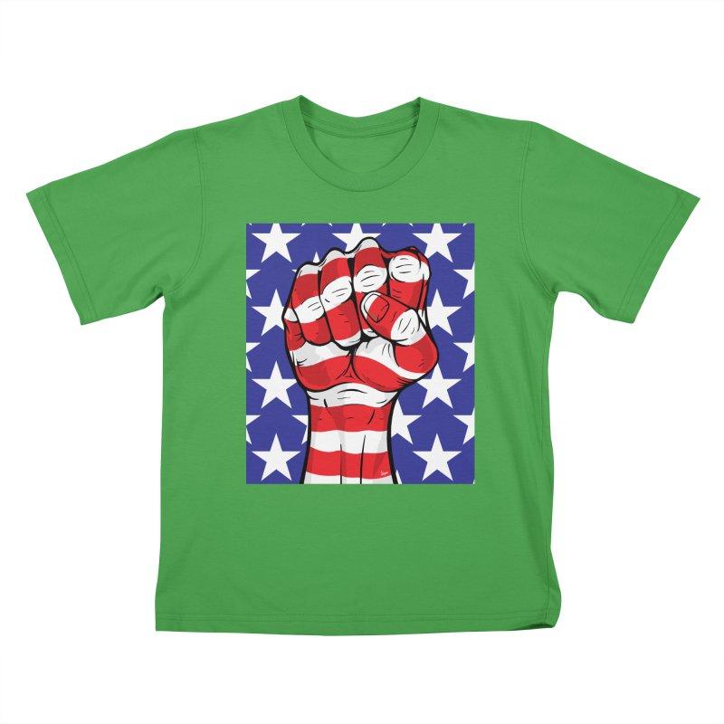 Fist Kids T-Shirt by The Art of JCooper
