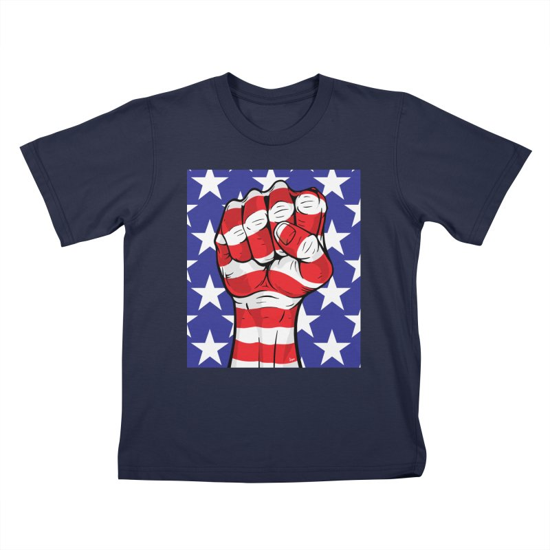 Fist Kids T-Shirt by The Art of JCooper