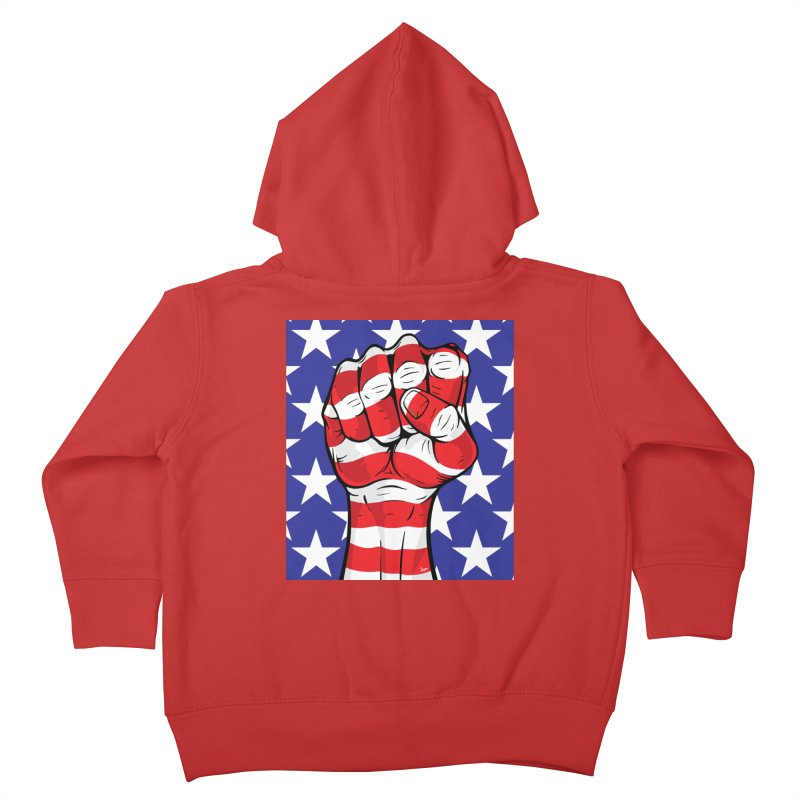 Fist Kids Toddler Zip-Up Hoody by The Art of JCooper