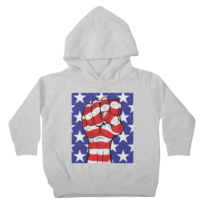 Fist Kids Toddler Pullover Hoody by The Art of JCooper
