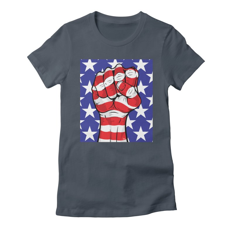Fist Women's T-Shirt by The Art of JCooper
