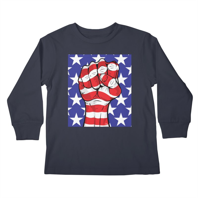 Fist Kids Longsleeve T-Shirt by The Art of JCooper