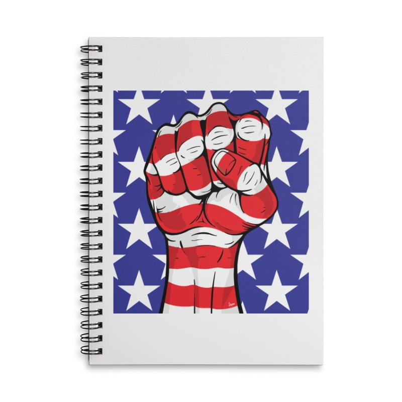 Fist Accessories Notebook by The Art of JCooper