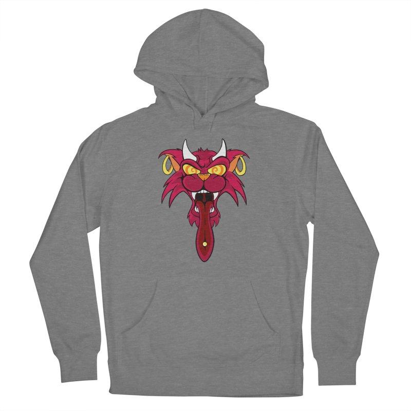 Devil Cat Women's Pullover Hoody by The Art of JCooper