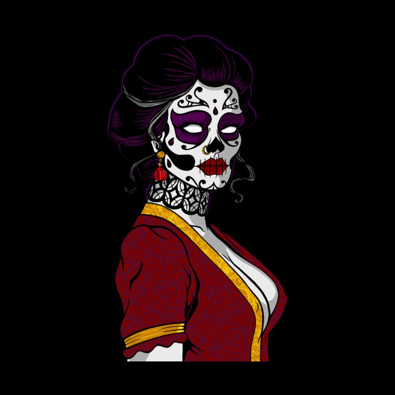 Sugar Skull Lady Women's Pullover Hoody by The Art of JCooper