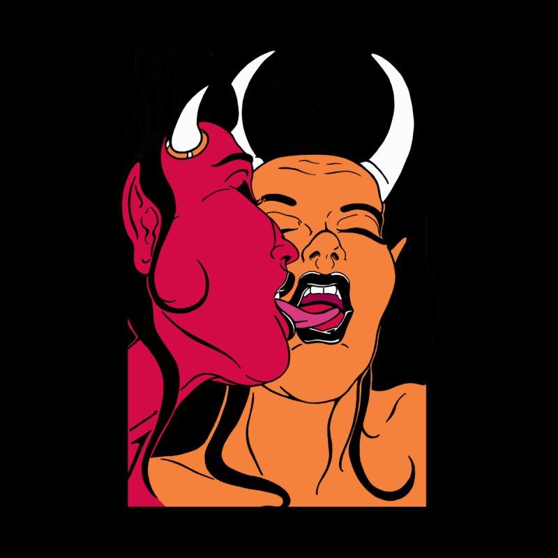 2 Devils Women's Pullover Hoody by The Art of JCooper