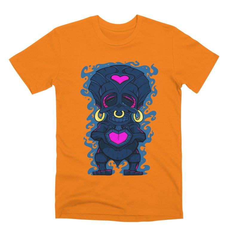 TikiMan Men's T-Shirt by The Art of JCooper
