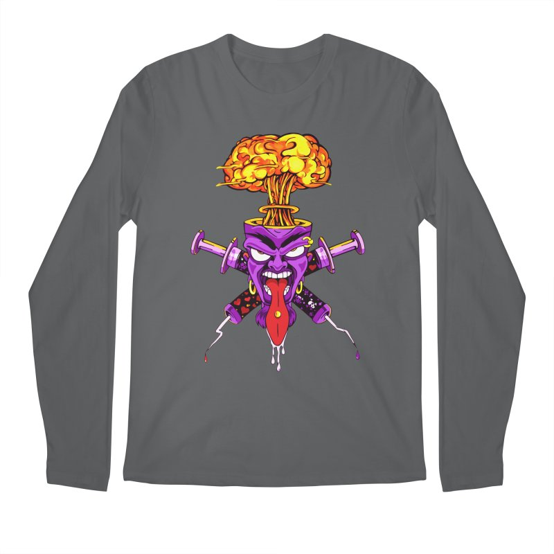 ShroomHead Men's Longsleeve T-Shirt by The Art of JCooper