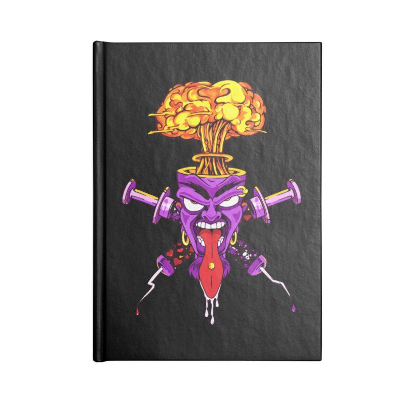 ShroomHead Accessories Notebook by The Art of JCooper
