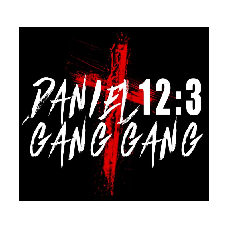 Daniel 13:3 Gang White Letters Women's Zip-Up Hoody by jcountry's Artist Shop