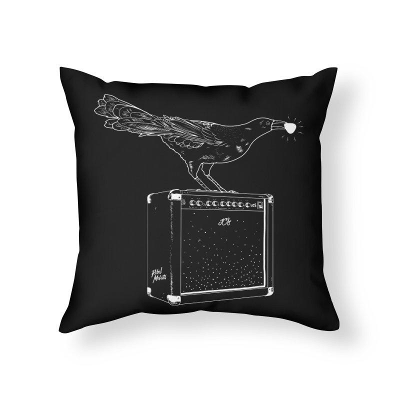 Rebel Mulata Home Throw Pillow by Rebel Mulata
