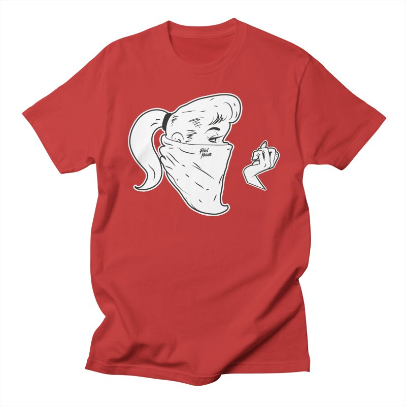 Lady Riot Men's Regular T-Shirt by Rebel Mulata