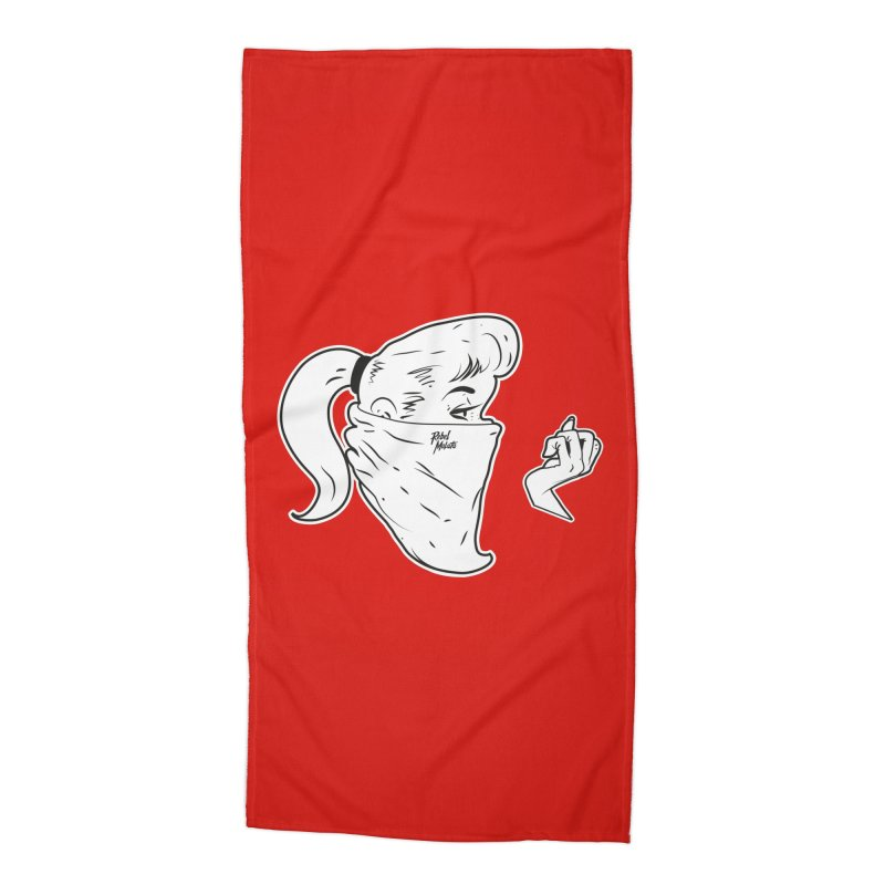 Lady Riot Accessories Beach Towel by Rebel Mulata