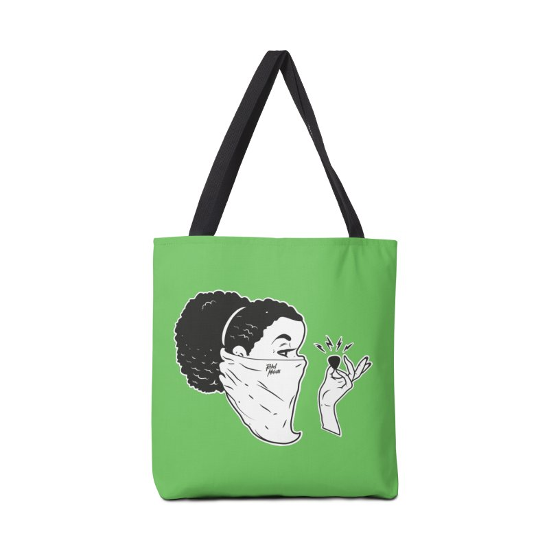 Señorita Riot in Tote Bag by Rebel Mulata