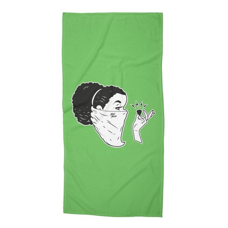 Señorita Riot Accessories Beach Towel by Rebel Mulata
