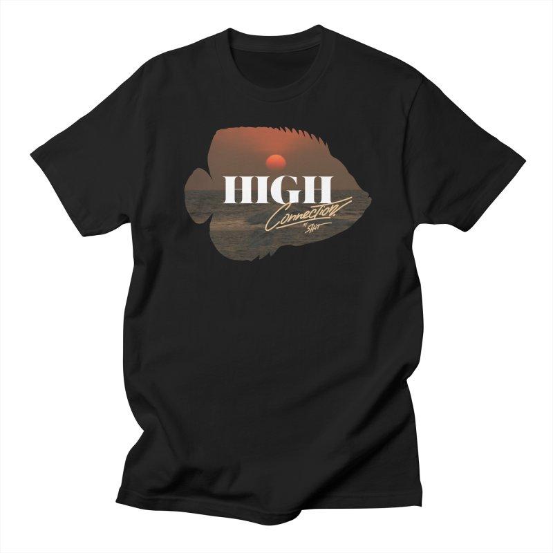 Connection Men's Regular T-Shirt by Rebel Mulata