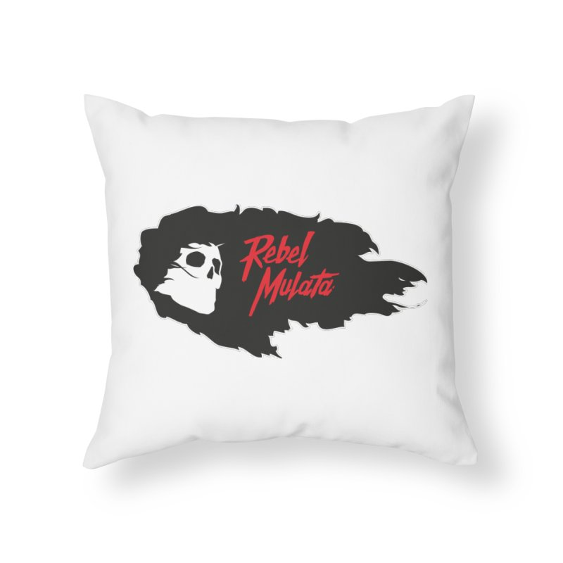 Rebel winds  Home Throw Pillow by Rebel Mulata