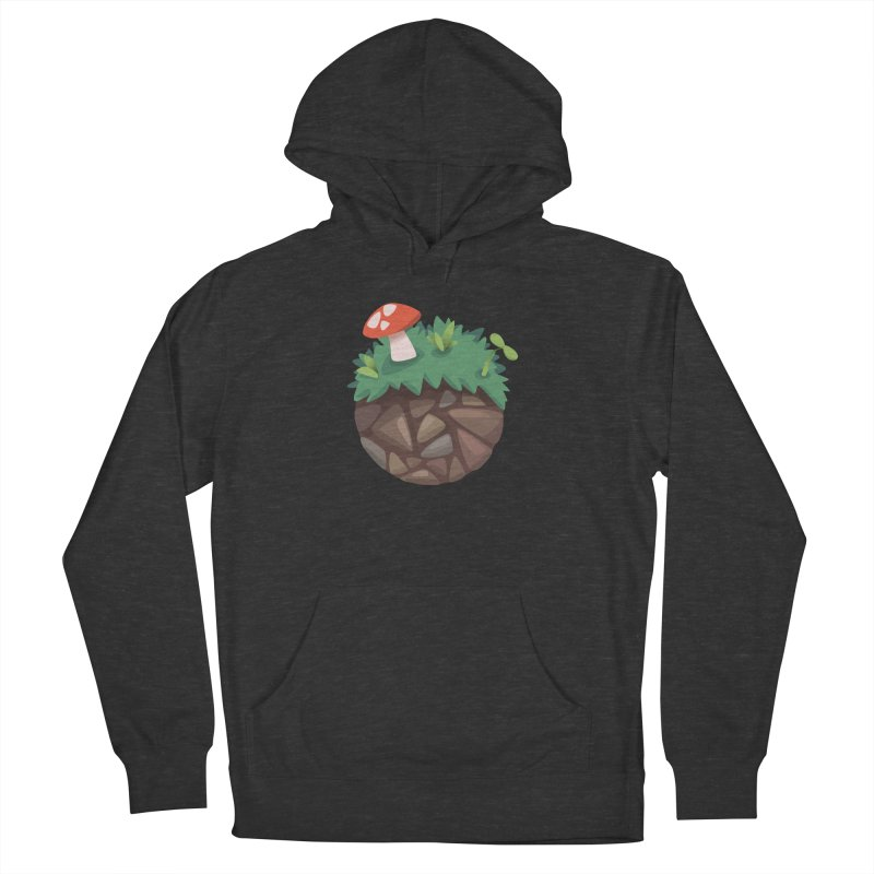 Grass Planetoid Men's Pullover Hoody by jcskillings's Artist Shop