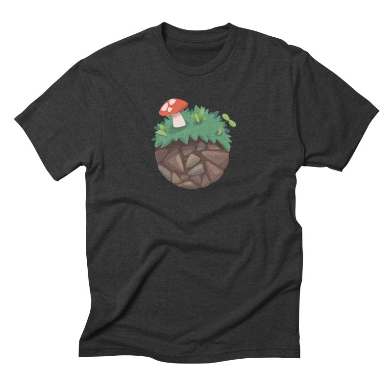 Grass Planetoid Men's Triblend T-Shirt by jcskillings's Artist Shop