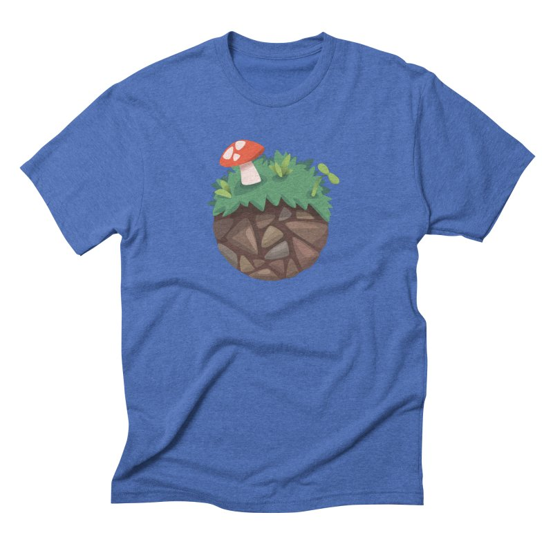 Grass Planetoid Men's Triblend T-shirt by jcskillings's Artist Shop