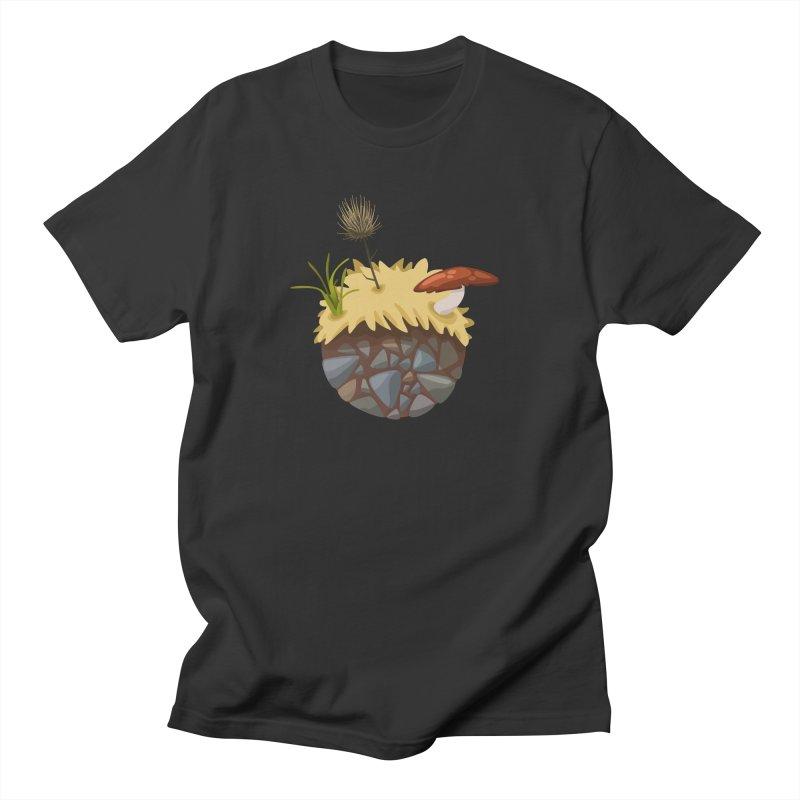 Prairie Planetoid Men's T-Shirt by jcskillings's Artist Shop