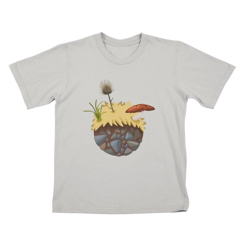 Prairie Planetoid Kids T-Shirt by jcskillings's Artist Shop