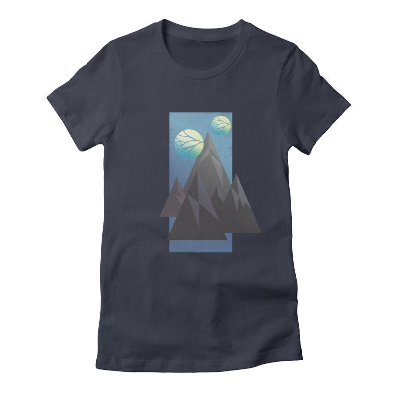 Wind Women's Fitted T-Shirt by jcskillings's Artist Shop