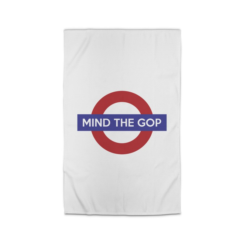 Mind The GOP Home Rug by J D STONE