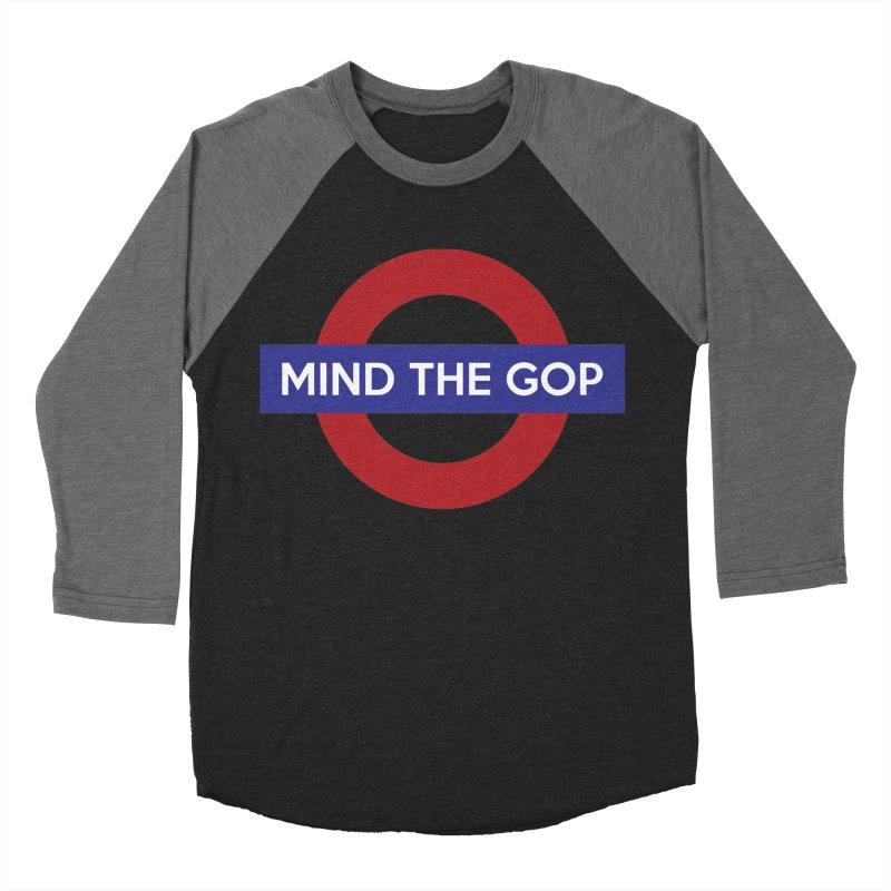 Mind The GOP Men's Baseball Triblend T-Shirt by J D STONE