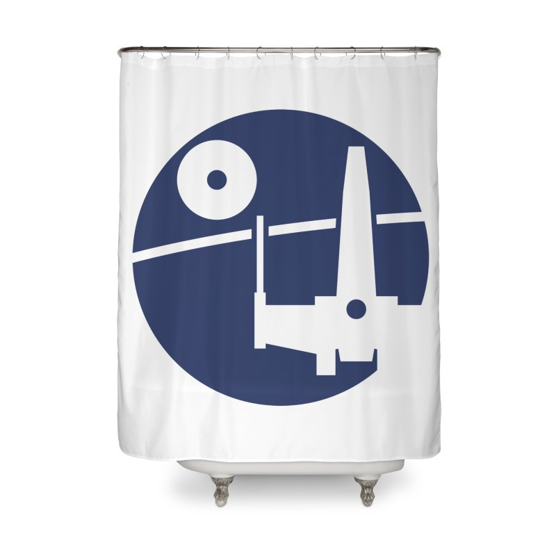 Yavin Mission Home Shower Curtain by J D STONE