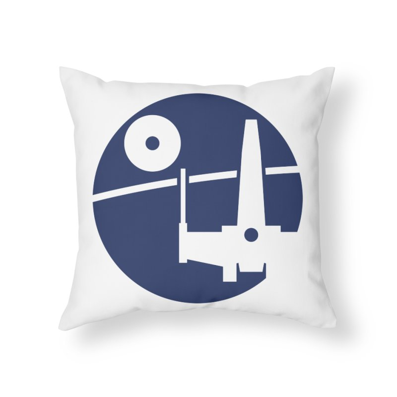 Yavin Mission Home Throw Pillow by J D STONE