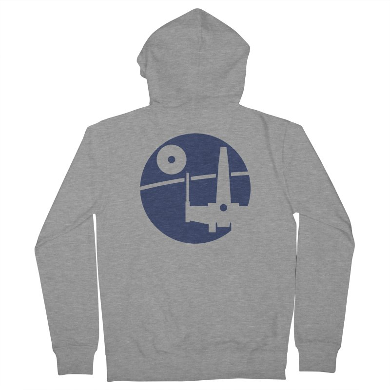 Yavin Mission Men's Zip-Up Hoody by J D STONE