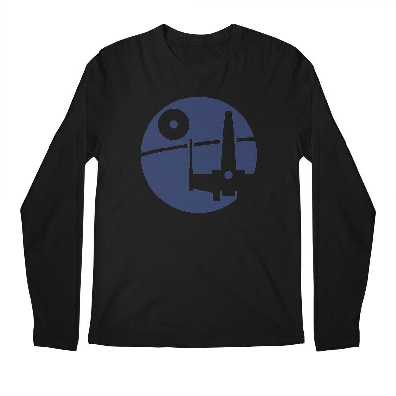 Yavin Mission Men's Longsleeve T-Shirt by J D STONE