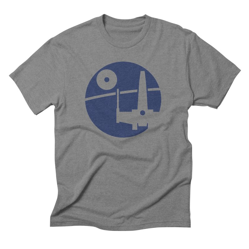 Yavin Mission Men's Triblend T-Shirt by J D STONE