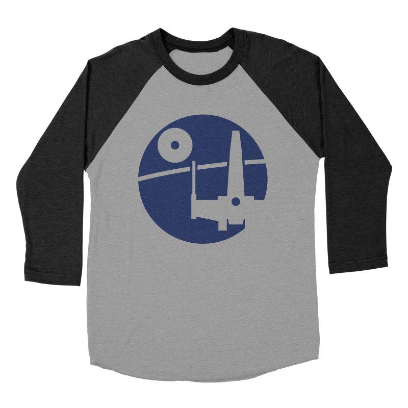 Yavin Mission Men's Baseball Triblend T-Shirt by J D STONE