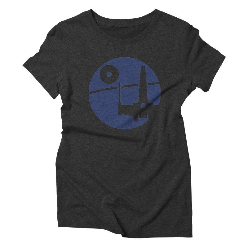 Yavin Mission Women's Triblend T-Shirt by J D STONE