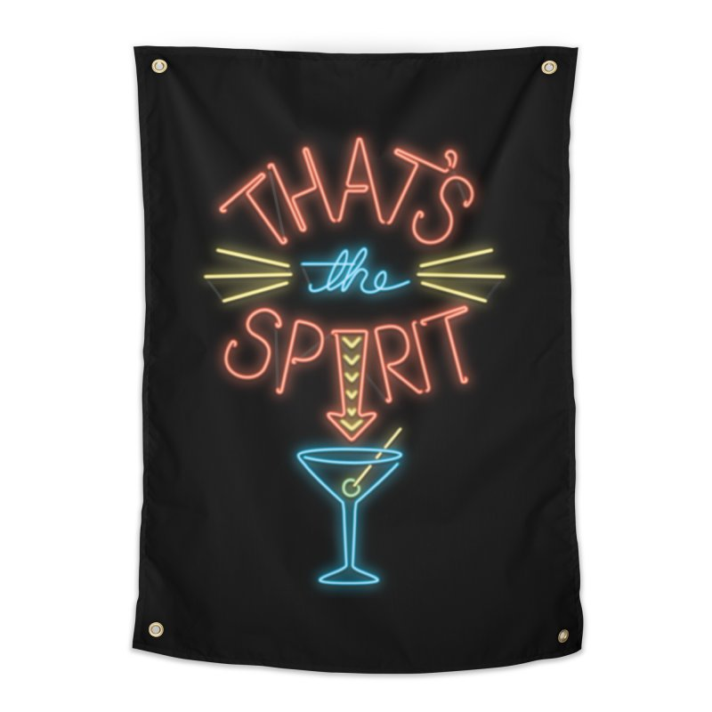 That's The Spirit Home Tapestry by J D STONE