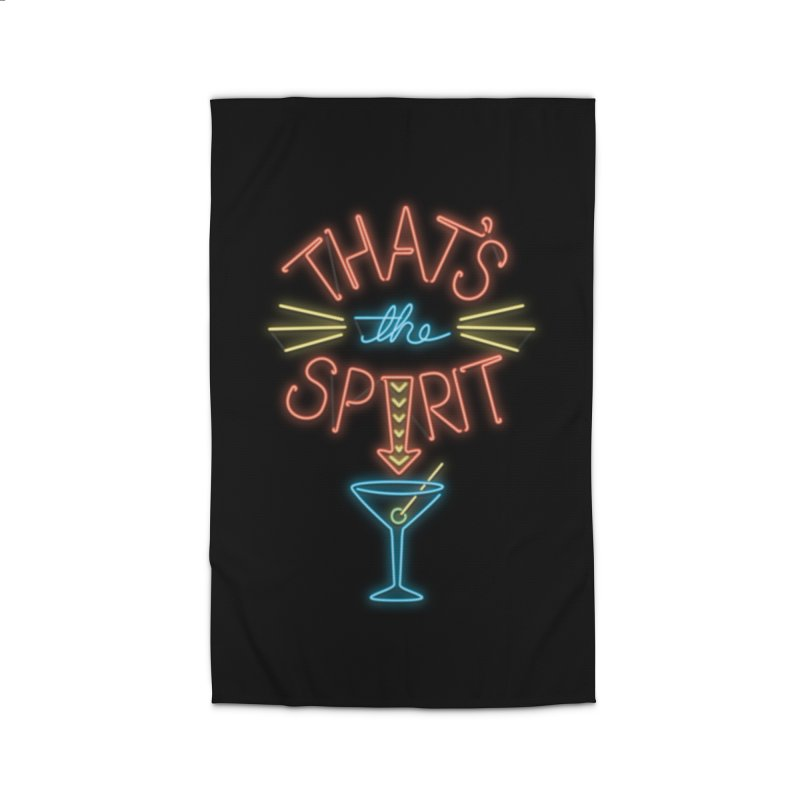 That's The Spirit Home Rug by J D STONE