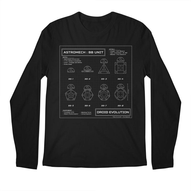 Astromech Evolution Men's Longsleeve T-Shirt by J D STONE