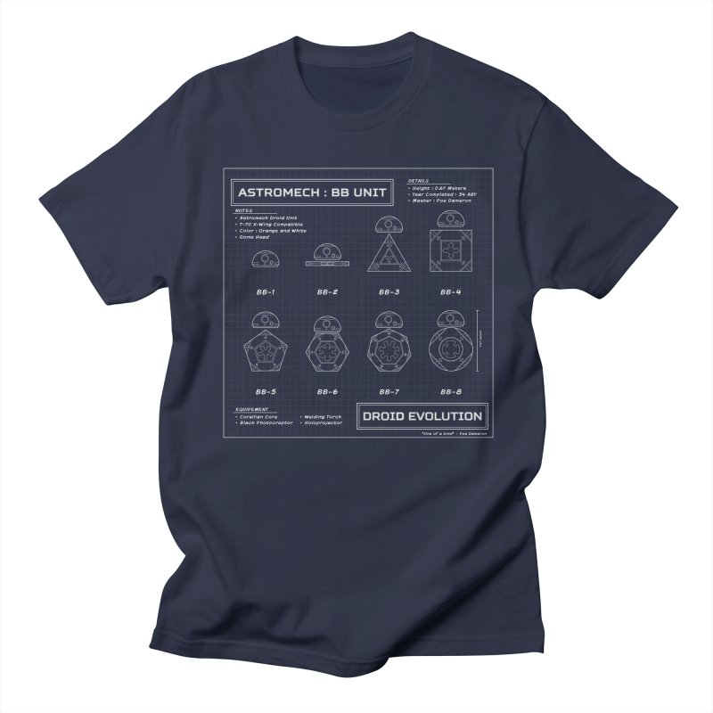 Astromech Evolution Men's T-shirt by J D STONE
