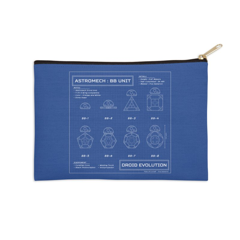 Astromech Evolution Accessories Zip Pouch by J D STONE