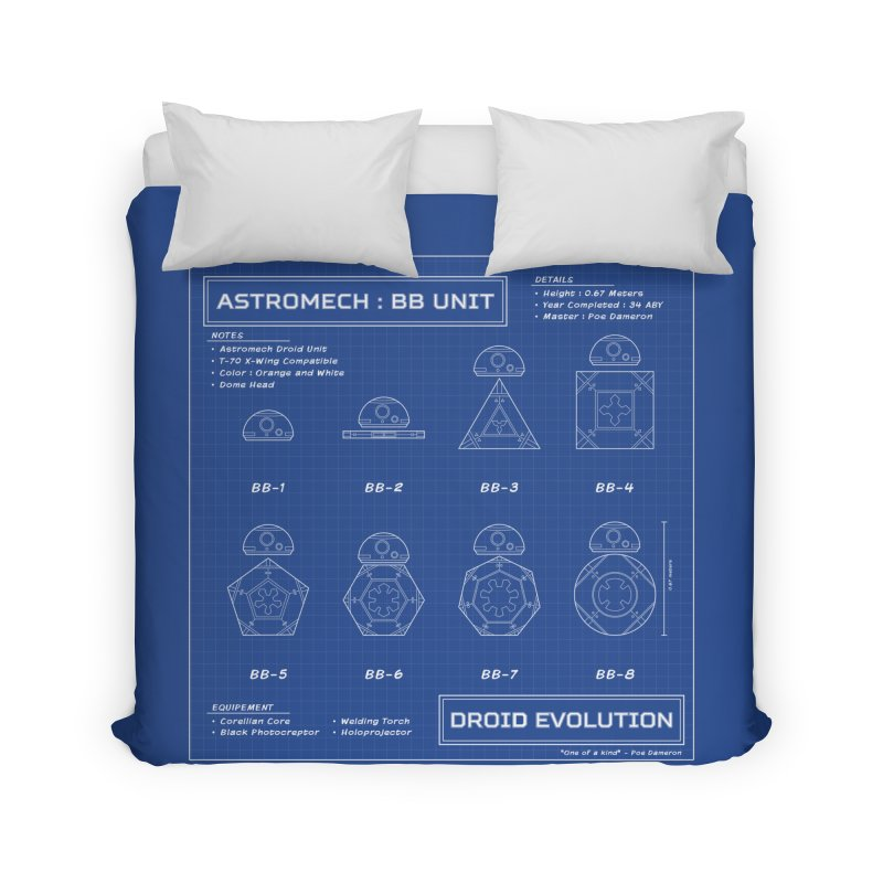 Astromech Evolution Home Duvet by J D STONE