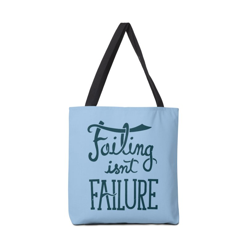Failure Isn't Failing Accessories Bag by J D STONE