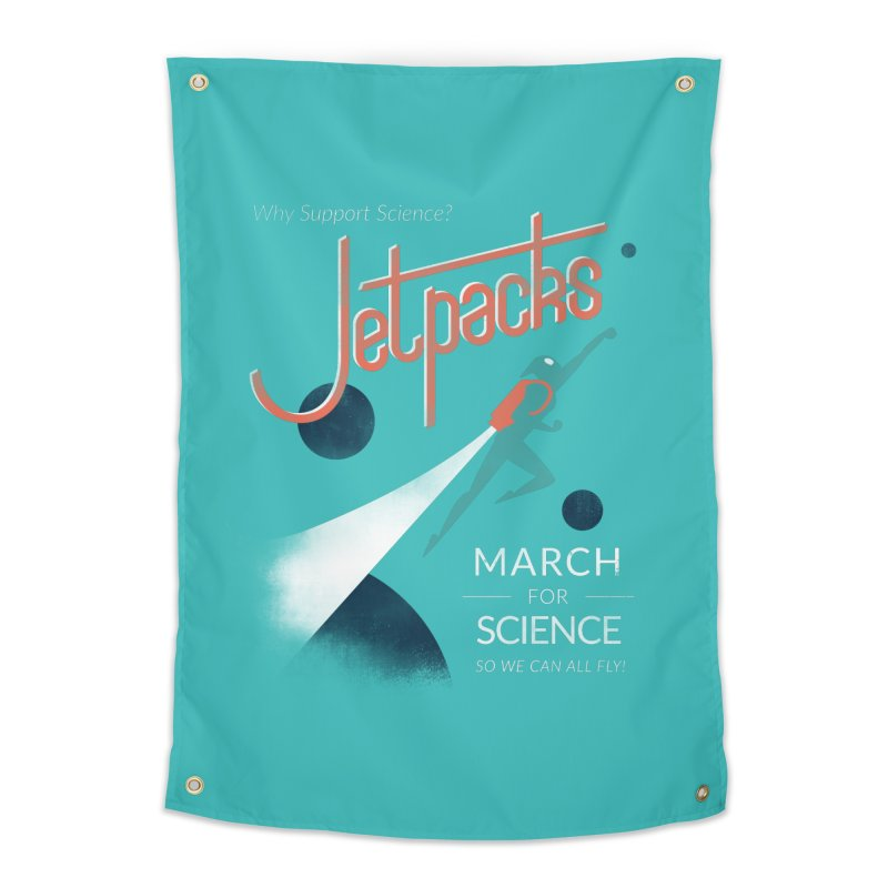 Why Support Science?  Jetpacks!   by J D STONE