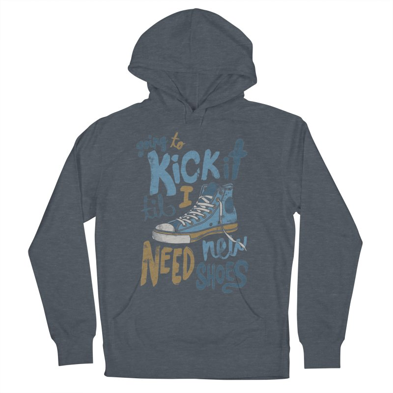 Kick It Women's Pullover Hoody by J D STONE