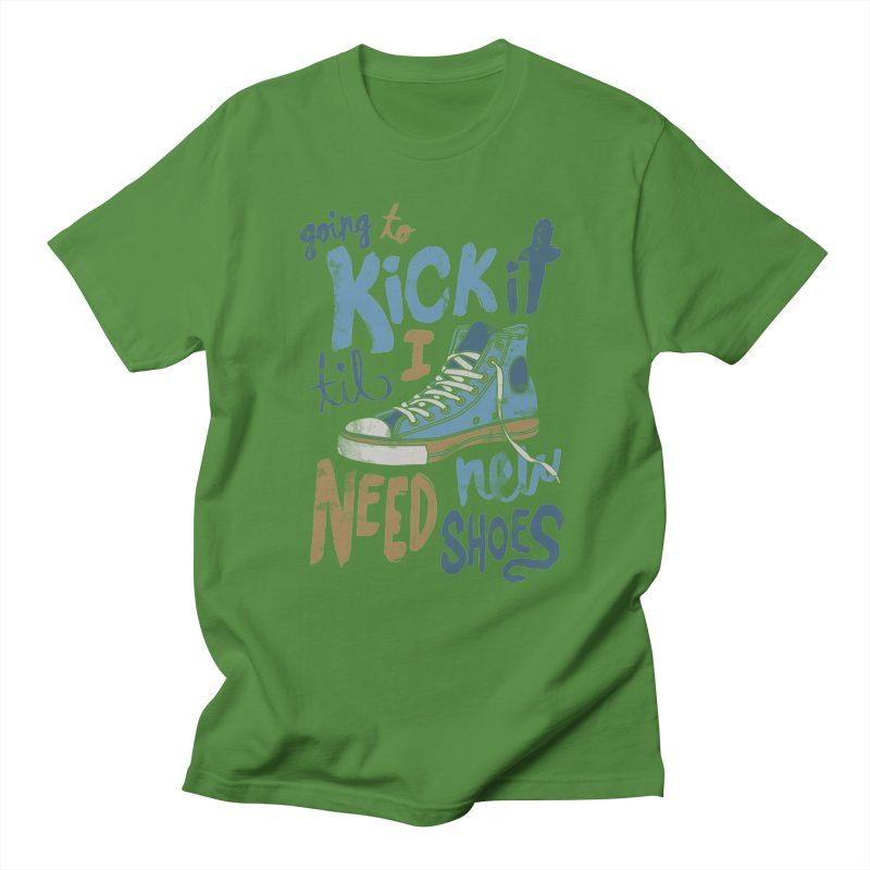 Kick It Men's T-shirt by J D STONE