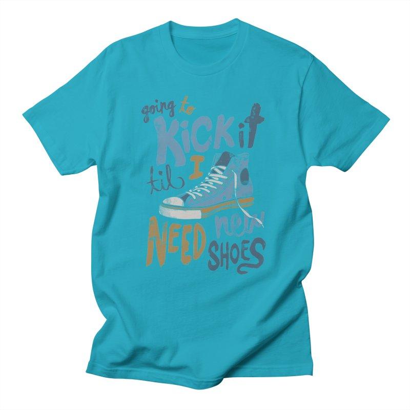 Kick It Men's T-shirt by J D STONE