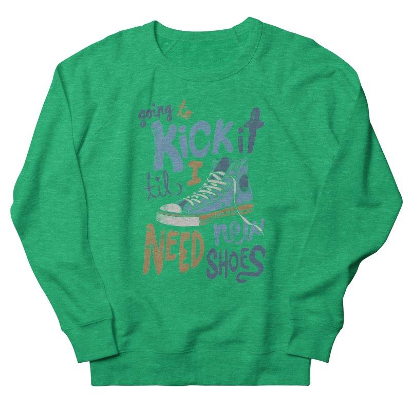 Kick It Men's Sweatshirt by J D STONE
