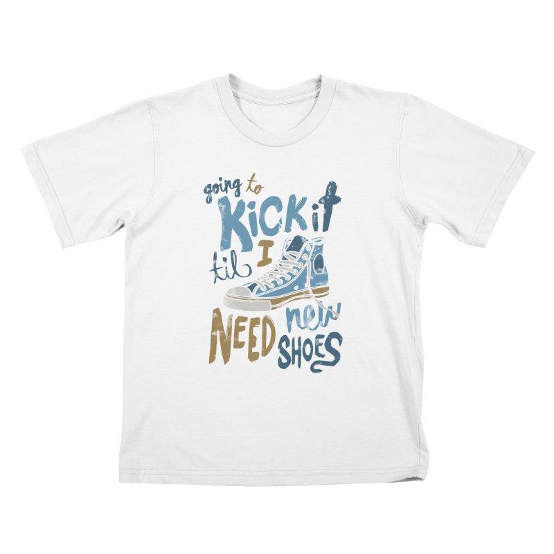 Kick It Kids T-shirt by J D STONE
